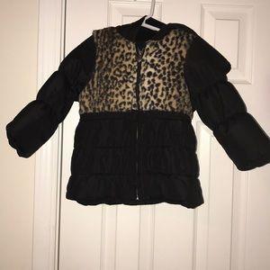 Other - Cheetah Puffer Jacket